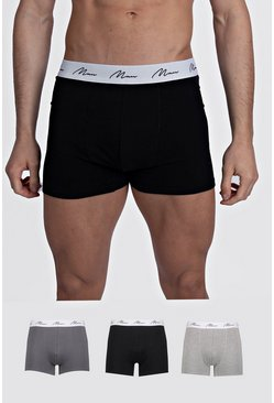 Multi 3 Pack MAN Script Mixed Trunk