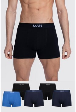 Multi 5 Pack MAN Dash Tonal Mixed Trunk