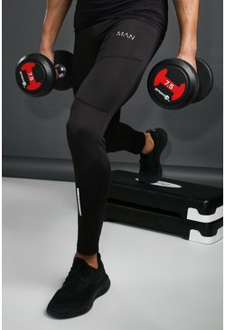 Black MAN Active Training Tights
