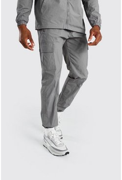 Charcoal Nylon Pocket Jogger