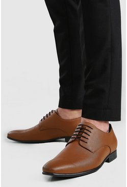 Tan Faux Leather Formals