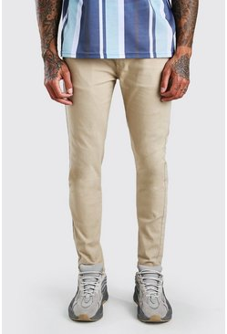 Stone Super Skinny Stretch Chino Trouser
