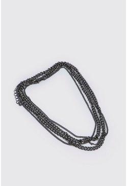 Black Double Layer Bracelet