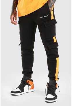 Joggings officiel MAN, Noir