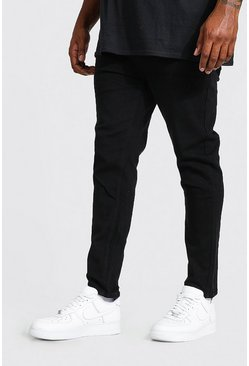 Black Plus Size Skinny Fit Jeans