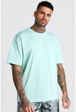 Mint Oversized Crew Neck T-Shirt