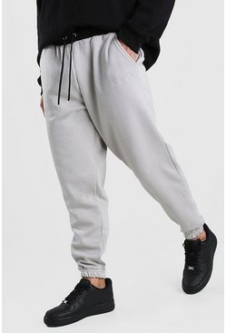 Stone His Loose Fit Jogger With Contrast Waistband