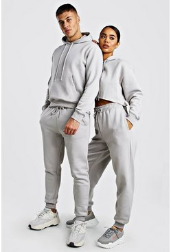 Stone His Boxy Fit Hooded Tracksuit With Embroidery