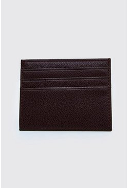 Brown Plain Card Holder