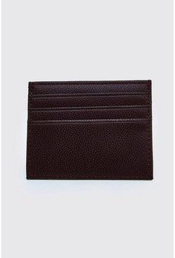 Brown Plain Card Holder