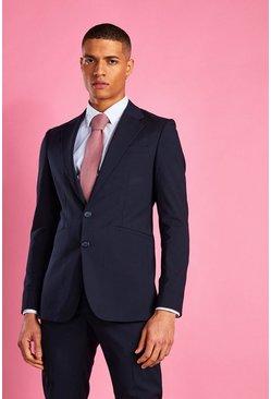Navy Super Skinny Blazer