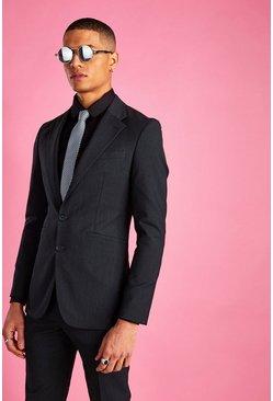 Charcoal Super Skinny Blazer