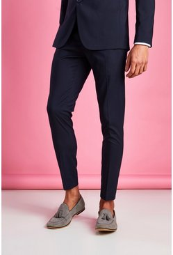 Navy Super Skinny Trouser