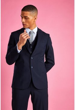 Navy Slim Fit Blazer