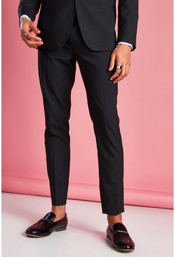 Charcoal Skinny Trouser
