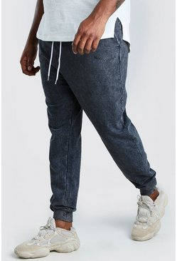 Charcoal Big And Tall MAN Official Heavyweight Jogger