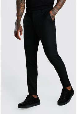 Pantalon super skinny casual, Noir