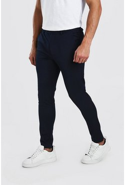 Navy Super Skinny Casual Pants