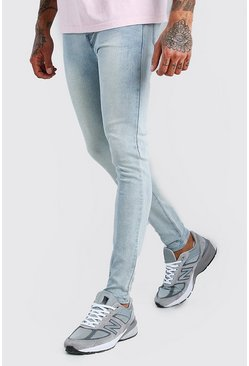 Ice blue Super Skinny Denim Jeans