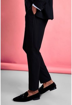 Pantalon de smoking skinny, Noir