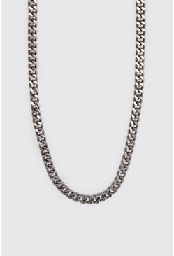 Mens Sky Medium Cuban Chain