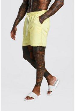 Lemon Seer Sucker Stripe Shorts
