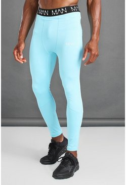 Blue MAN Active Compression Tights