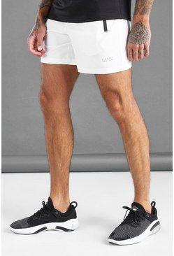 White MAN Active Waistband Shorts