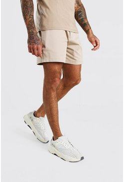 Sand Relaxed Fit Chino Short