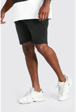 Charcoal Big And Tall Skinny Fit Jean Shorts