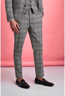 Stone Smart Skinny Dogtooth Check Pants