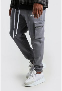 Slate Big And Tall Skinny Utility Jogger With Pintuck