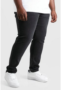 Charcoal Plus Size Skinny Jeans