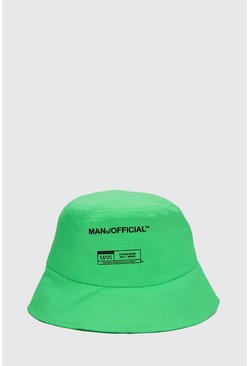 Chapeau cloche MAN officiel, Green