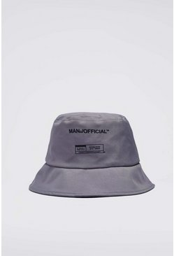 Chapeau cloche MAN officiel, Gris