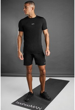 Ensemble short et t-shirt MAN Active, Noir