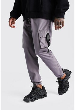 Sage Original MAN Shell Cargo Buckle Jogger