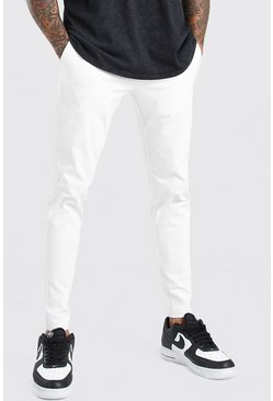 White Super Skinny Chino Pants