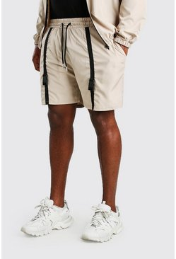 Stone Big And Tall Shell Utility Shorts