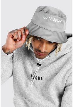 Grey marl Abode Bucket Hat