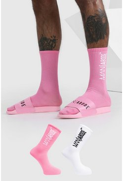 Chaussettes Abode, Rose