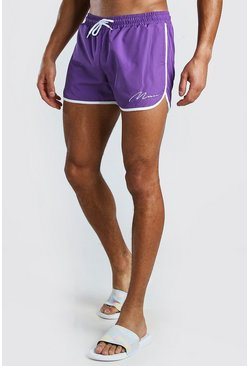 Bark MAN Signature Runner Style Swim Shorts