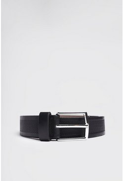 Black Detailed Belt