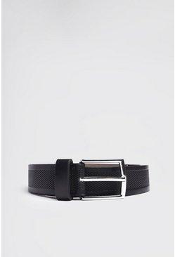 Black Detailed Belt