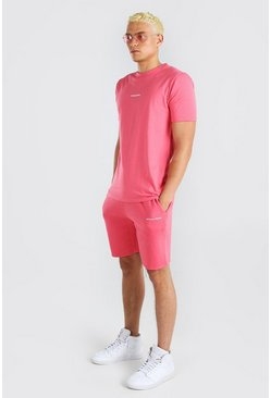 Coral Man Official T-Shirt & Short Set