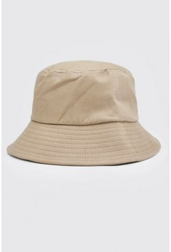 Stone Plain Bucket Hat
