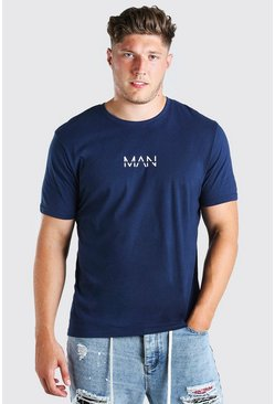 T-shirt MAN Dash big and tall, Marine