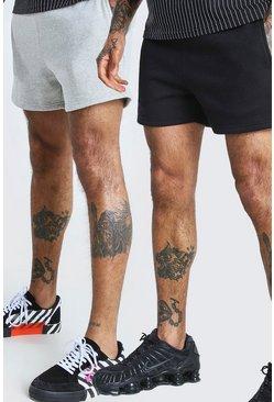 Multi 2 Pack Short Length Jersey Short