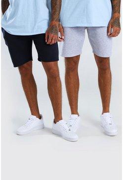 Multi 2 Pack Mid Length Jersey Short