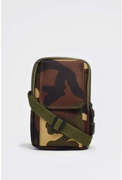 Camo Cross Body Bag